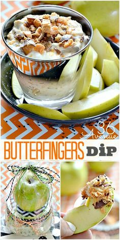 Recipe : The most delicious Butterfingers Dip and awesome GIFT IDEA at the36thavenue.com Enjoy!