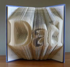 Book Folding On Pinterest Folded Book Art Book Folding