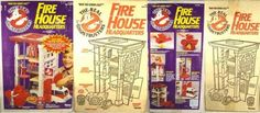 For New York kids, pretending to be a Ghostbuster was easy—all they had to do was head down to the Tribeca firehouse that served as the location in the films. For everybody else, the Kenner playset, released in 1987 and based on the cartoonThe Real Ghostbusters, was the next best thing: It had a space for the Ecto 1, three levels, a ghost containment unit, a spinning pole that the action figures could slide down, and even came with some gooey Ecto-plazm.