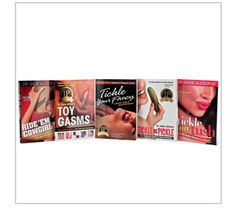 www.rondaharvey.com 888*399*8580  GOOD READS: The more you know, the better it feels! Includes five entertaining sex education guides on toys, self-pleasure, oral play, anal play and sexual positions at a special savings.  Available November 1 - 30, 2012, while supplies last. $80 ~ http://www.rondaharvey.com ~