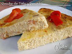 Quiche de Tofu y Pescado: Recetas Dukan