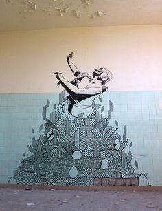 BUFFdiss, Dido + Aeneas Series, #Berlin - unurth | street art #streetart