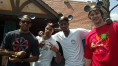 Indiana  Pacers Visit Disney World