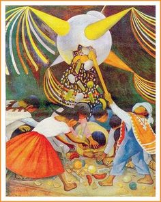 Posada mexicana. #Posada #Navidad #Mexico #TradicionMexicana #Piñata