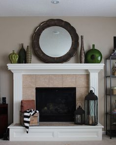 Decoration, Diy Fireplace Mantel Designs: Get A Charming Fireplace Look with DIY Fireplace Mantel