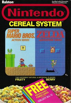 Nintendo Cereal System | 25 Cereals From The '80s You Will Never EatAgain