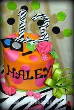Teen Birthday cake LOVE IT!!