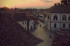 Sibiu, Romania. Oh, let's read The Historian while traveling here together.