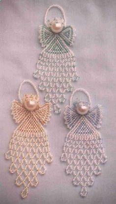 bead patterns, brick stitch pattern, pattern christma