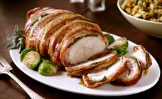 Bacon Wrapped Turkey Breast | Safeway
