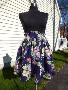 Pretty elastic waist skirt