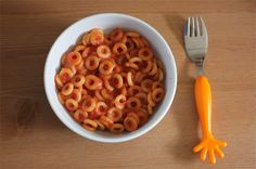 Green Gourmet Giraffe: Healthy spaghetti hoops