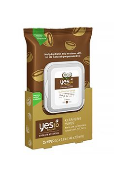 Gentle enough to use on your face, but effective enough that you can use them to refresh your entire body. // Cleansing Wipes by Yes to Coconuts