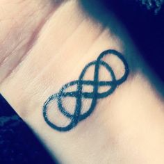 This double infinity tattoo