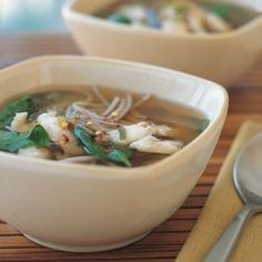 Miso Soup with Fish and Soba | Williams-Sonoma
