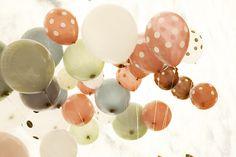 such pretty balloon colors!