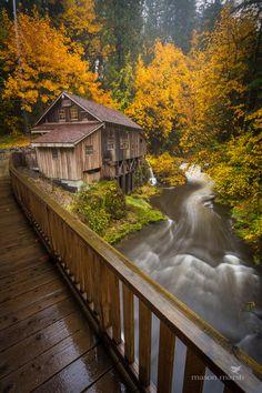 Cedar Creek Grist Mill, Woodland, Washington | Mason Marsh on 500px