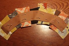 Easy way to make a scrappy ring quilt This is a wonderfully explained tute..