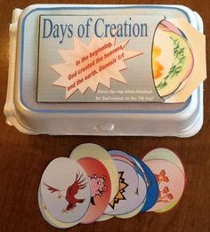 Bible Fun For Kids: Days of Creation Eggs