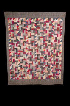 Crazy Quilt Ex Collection Robert Cargo. circa 1875