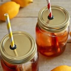 Make your very own Mason Jar Straw Lids with some grommets from the hardware store!