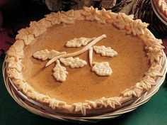 Tempting Pumpkin Pie