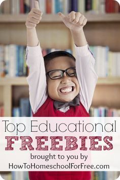How To Homeschool for Free - lots of great resources