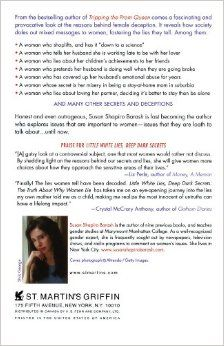 Little White Lies, Deep Dark Secrets: The Truth About Why Women Lie: Susan Shapiro Barash: 9780312364465: Amazon.com: Books