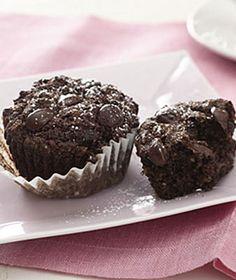 Fudge Chip Muffins!!!! Gluten Free...These look soooo good! |health.com