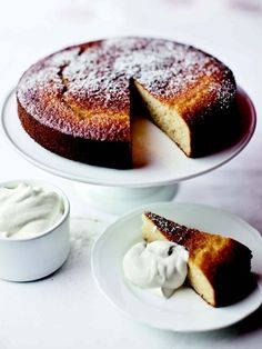 grapefruit honey cake