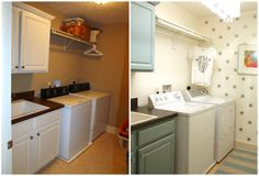 laundry rooms, room transform, laundri room