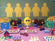 Festa Lego – O dia da Festa! - Criative-se