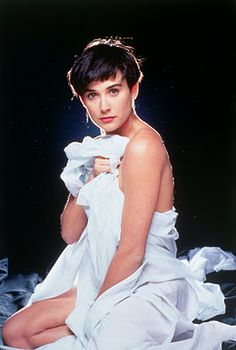 Demi Moore. Ghost, 1990. Movie Poster.