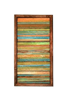 SALE Abstract Painting on Wood Reclaimed Wood Sculpture Modern Wall Art. $62.99, via Etsy.