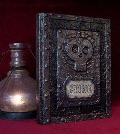 DAVE LOWE DESIGN the Blog: '08 Halloween #12: Making Creepy Books