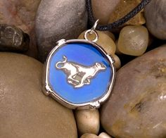 Mood Circle Necklaces - Big Cat at theBIGzoo.com, a family-owned gift shop with 12,000+ animal-themed items.