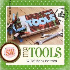 etsy find, adorable quiet book patterns