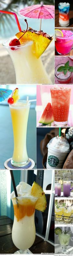 Non-Alcoholic Summer Drinks