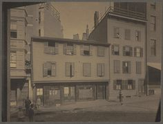 Paul Revere House, North Square, North End by Boston Public Library, via Flickr