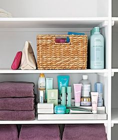 By minimizing the mess and maximizing the storage, you'll create a cool, calm space where you can feel collected.