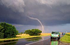 Tornado near Mulvane, Kansas