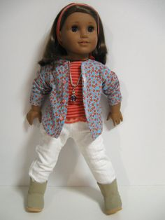 American Girl Doll ClothesLets Go Back to by 123MULBERRYSTREET, $29.00