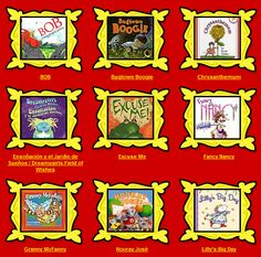 listen to books online, kid books, read books, read aloud engagement, reading stations