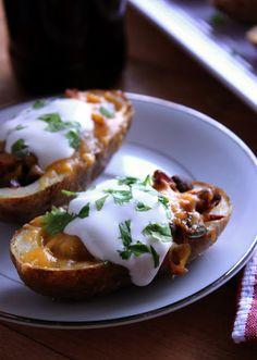 The Busty Baker: Southwestern Potato Skins