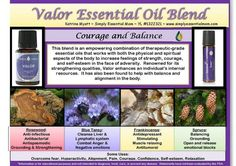 Valor essential oil blend