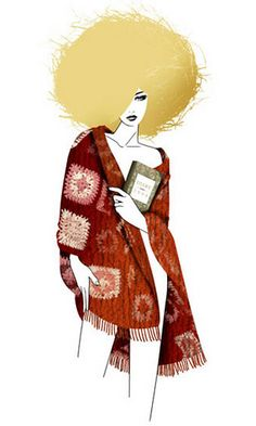 GLAMOUR MAGAZINE GERMANY - TIME FOR REFLEXION by LUIS TINOCO - ILLUSTRATOR, via Flickr