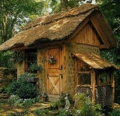 Garden shed? Play house? A place to dream? Just a cute tiny house! by tricia