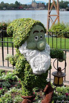 Bashful Topiary