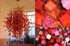 art chandelier origami