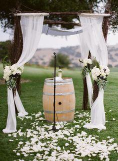 vineyard ceremony